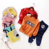 新款童装儿童内衣套装棉中小童宝宝秋衣秋裤婴儿睡衣家居服批发