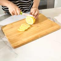 木板切片切板可用小号水果板砧板竹菜板材质切菜板钻板刀板加固