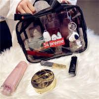 少女手提ins风超火化妆包可爱日系韩国洗漱收纳包化妆品收纳盒大