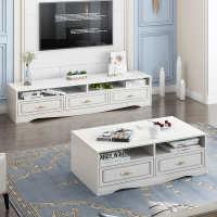 电视柜客厅柜轻奢放茶几简约北欧卧室组合电视机小户型式简易现代